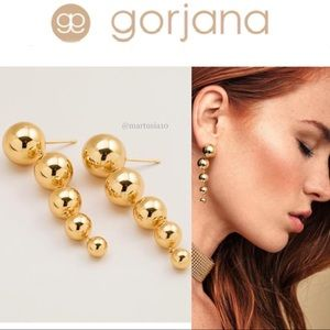 Gorjana Newport Ball Earrings in Gold